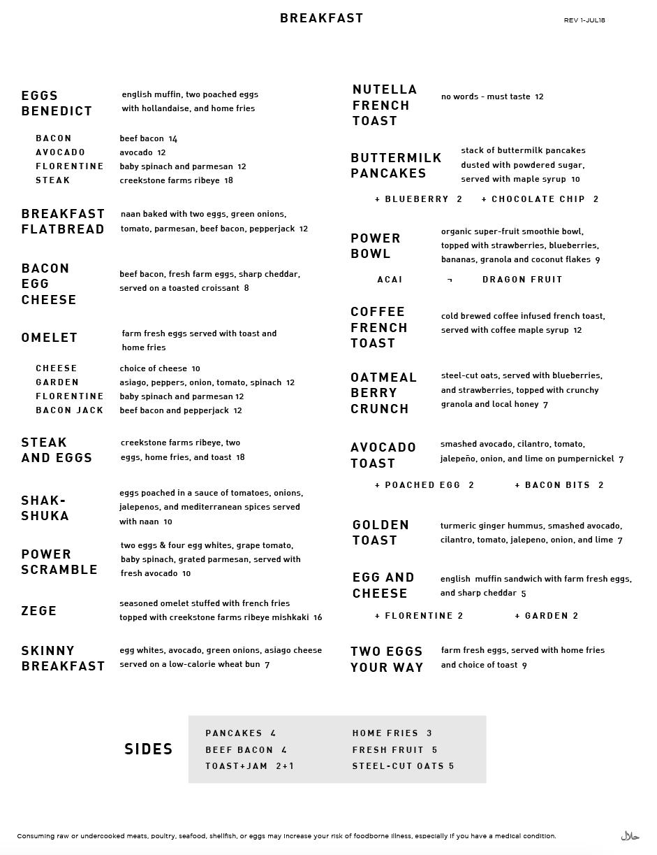 MENU – Cozee Cafe – Craft Coffee // Scratch Kitchen