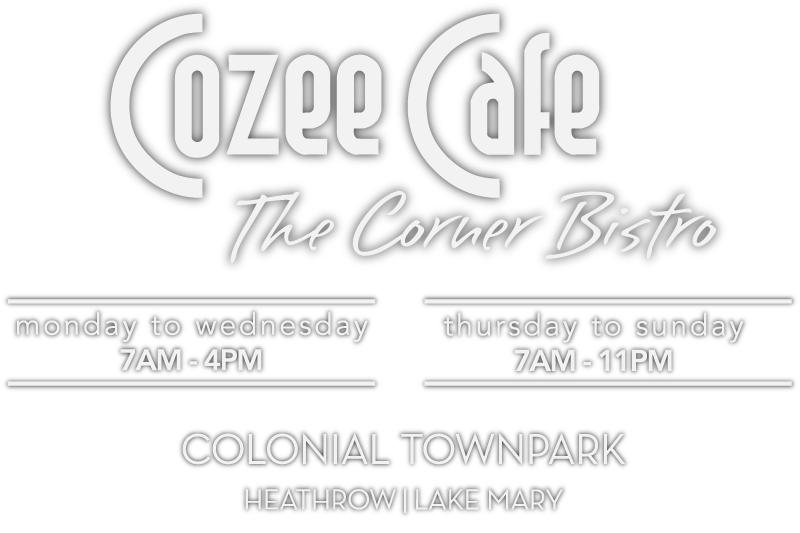 Cozee Cafe, The Corner Bistro